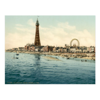 Blackpool I, Lancashire, England Postcard