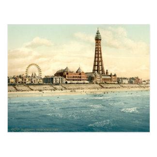 Blackpool II, Lancashire, England Postcard