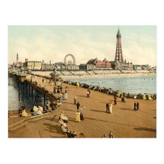 Blackpool III, Lancashire, England Post Card