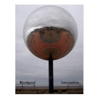 Blackpool Mirrorball Post Card