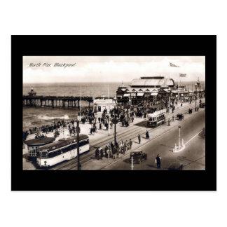 Blackpool, North Pier Postcard