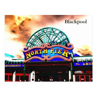 Blackpool North Pier Postcards