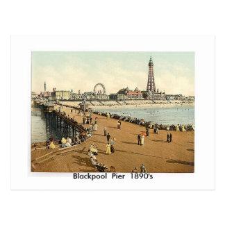 Blackpool  Pier  1890's Postcards