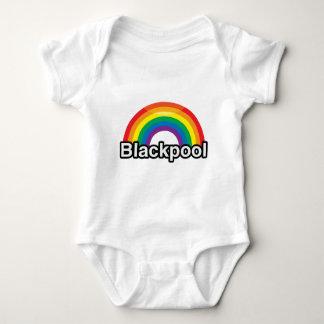 BLACKPOOL PRIDE RAINBOW -.png Baby Bodysuit
