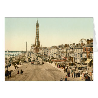 Blackpool Promenade, Lancashire, England Card
