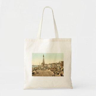 Blackpool Promenade, Lancashire, England Tote Bag