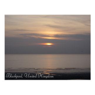 Blackpool Sunset Postcards