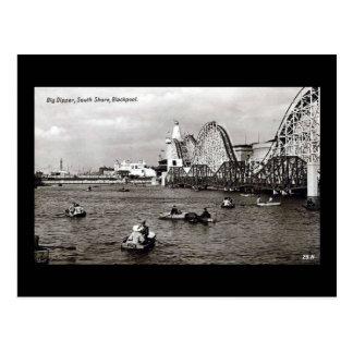 Blackpool, the Big Dipper Postcards