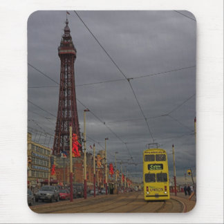 BLACKPOOL TOWER AND TRAM MOUSE PAD