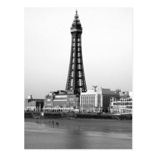 Blackpool Tower B/W Post Cards