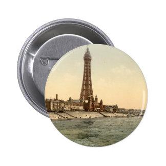 Blackpool Tower I, Lancashire, England 6 Cm Round Badge