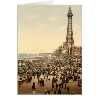 Blackpool Tower III, Lancashire, England Card