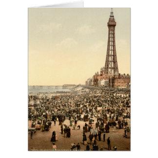 Blackpool Tower III, Lancashire, England Card