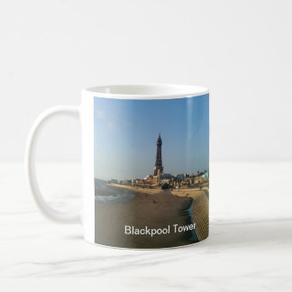 Blackpool Tower in England Coffee Mug
