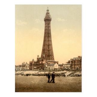 Blackpool Tower IV, Lancashire, England Postcard
