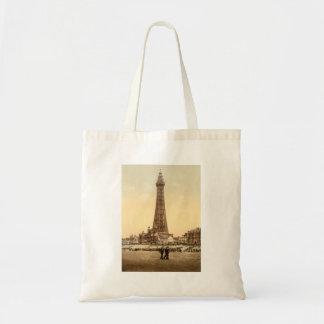 Blackpool Tower IV, Lancashire, England Tote Bag