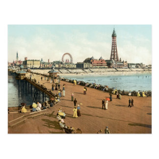 Blackpool Tower North Pier, c.1895 Postcard