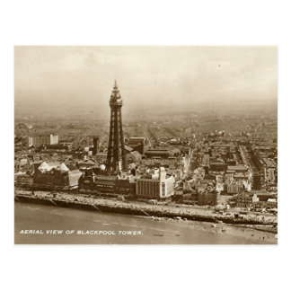 Blackpool Tower - Old Postcard