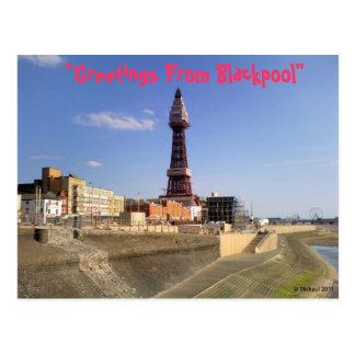 Blackpool Tower Postcards