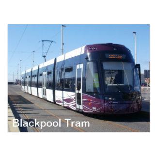 Blackpool Tram Post Cards
