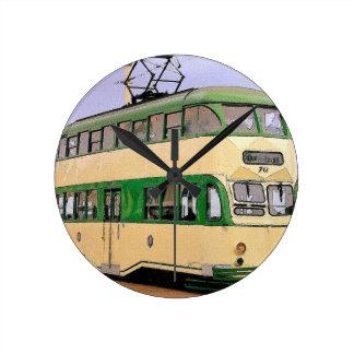 Blackpool Tram Round Clock