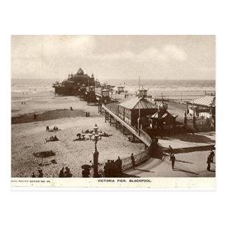 Blackpool, Victoria Pier Post Card