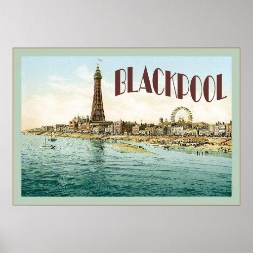 Vintage travel posters uk