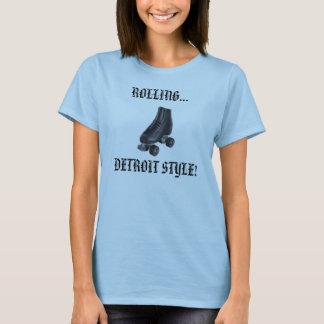 blackriedellskate, ROLLING...DETROIT STYLE! T-Shirt