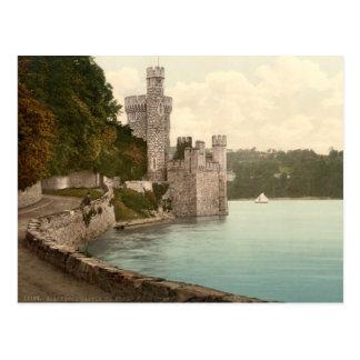Blackrock Castle 19th century Ireland Post Card
