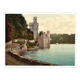 Blackrock Castle. Co. Cork, Ireland rare Photochro Postcard