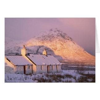 Blackrock Cottage, Glencoe, Highlands, Scotland 2 Card