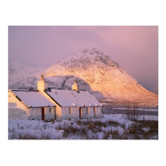 Blackrock Cottage, Glencoe, Highlands, Scotland 2 Postcard