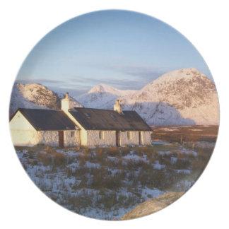 Blackrock Cottage, Glencoe, Highlands, Scotland Plate