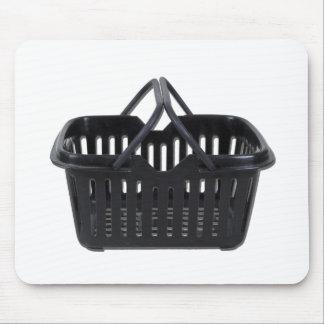 BlackShoppingBasket110511 Mouse Pad