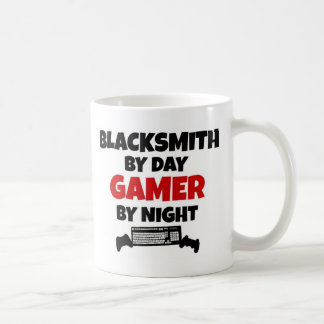Blacksmith by Day Gamer by Night Coffee Mug