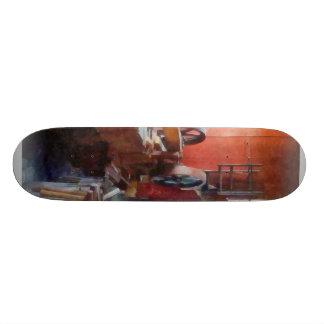 Blacksmith Shop Near Window 20.6 Cm Skateboard Deck