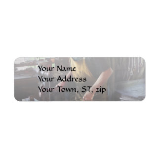 Blacksmith - Starting with a bang Return Address Label