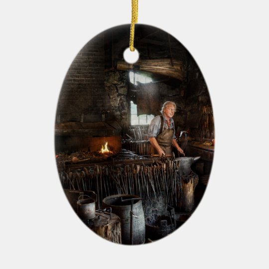Blacksmith - This is my trade Christmas Ornament