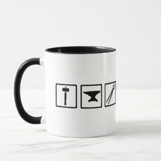 Blacksmith tools mug
