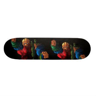 blackspot copy, smallerversionblack, smallerver... 20 cm skateboard deck