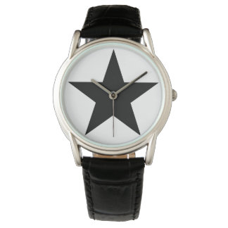 Blackstar - Leather S (Men - Women) Watch