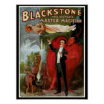Blackstone Master Magician Poster