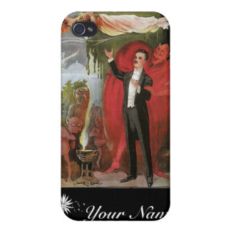 Blackstone ~ Master Magician Vintage Magic Act iPhone 4 Covers