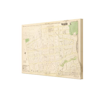 Blackstone Park Atlas Canvas Print