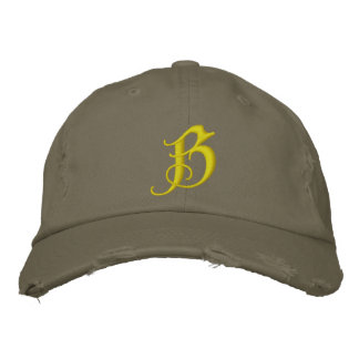 Blackthorn Softball Embroidered Hats