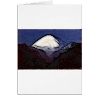 Blacktop Mountain Greeting Card