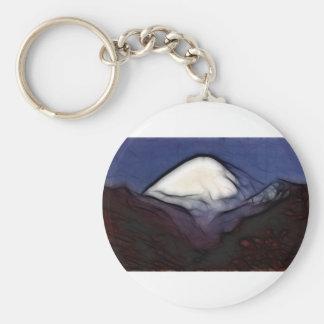 Blacktop Mountain Key Chain