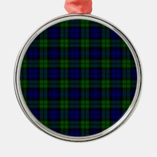 Blackwatch tartan Campbell clan Christmas Ornament