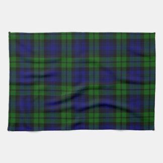 Blackwatch tartan Campbell clan Kitchen Towel