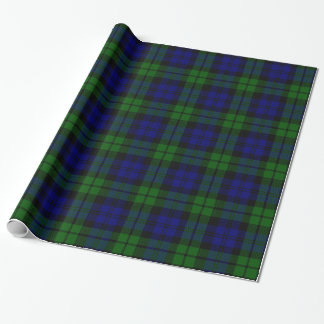 Blackwatch tartan Campbell clan Wrapping Paper